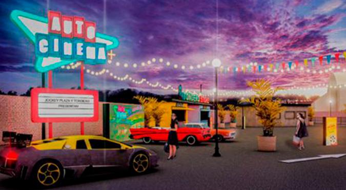 Autocinema+ abrirá sus puertas desde el 26 de julio