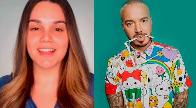 Joven se vuelve viral en TikTok por verse igual que J Balvin gracias al maquillaje | VIDEO