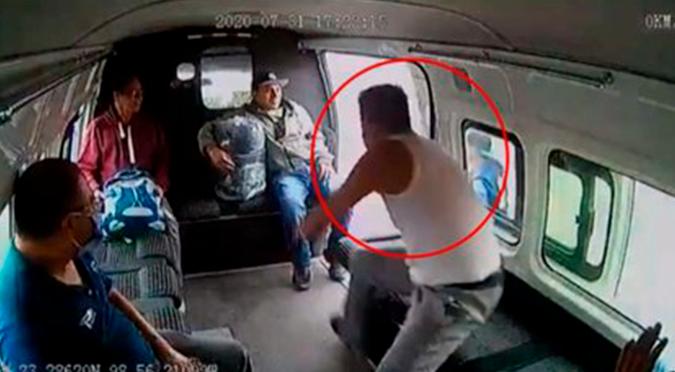 Asalto fallido termina en golpiza a ladrón | VIDEO