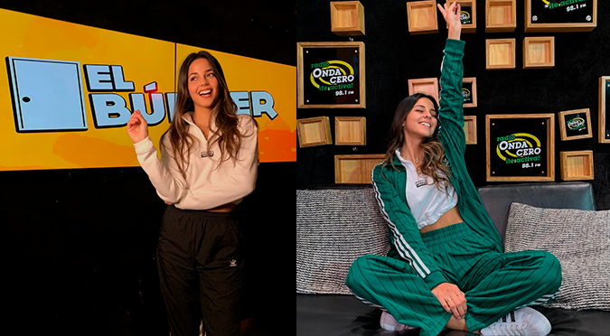 """Luciana Fuster fue elegida como """"La reina del TikTok"""" por Kunno   VIDEO"""