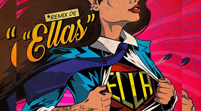 "La Pitizion estrenó el remix de ""Ella"" junto a Nicole Zignago y Kenia Os | VIDEO"
