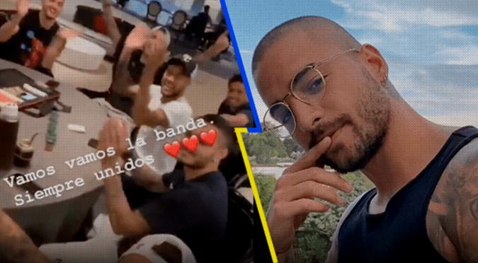 Maluma cierra su cuenta de Instagram tras 'burla' de Neymar cantando 'Hawái'   VIDEO