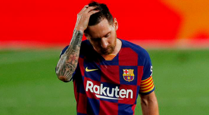 Leo Messi le comunicó al Barcelona que quiere abandonar el club