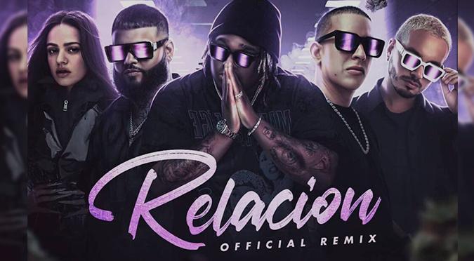 Rosalía, Daddy Yankee, J Balvin y Farruko juntos en 'Relación Remix' de Sech   VIDEO