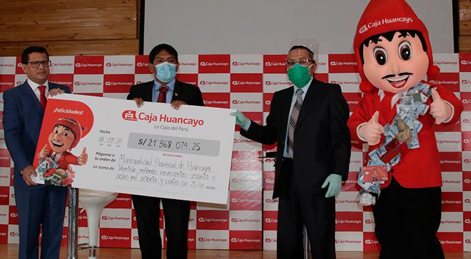 Caja Huancayo ayudará a la ejecución de obras de impacto social
