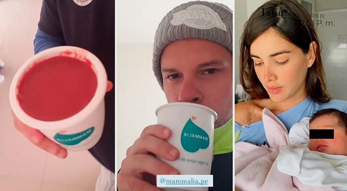 Mario Hart comió la placenta de Korina Rivadeneira | VIDEO