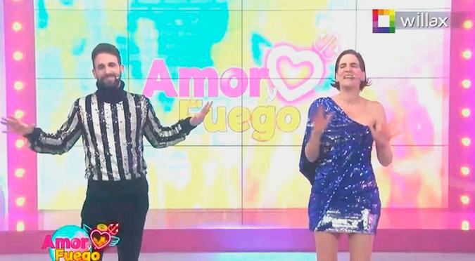'Amor y fuego': Así fue el estreno del nuevo programa de Rodrigo González y Gigi Mitre | VIDEO