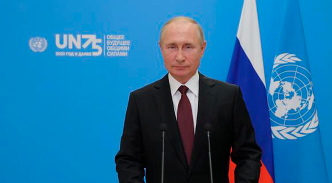 Coronavirus: Vladimir Putin ofrece gratis a la ONU vacuna rusa Sputnik V