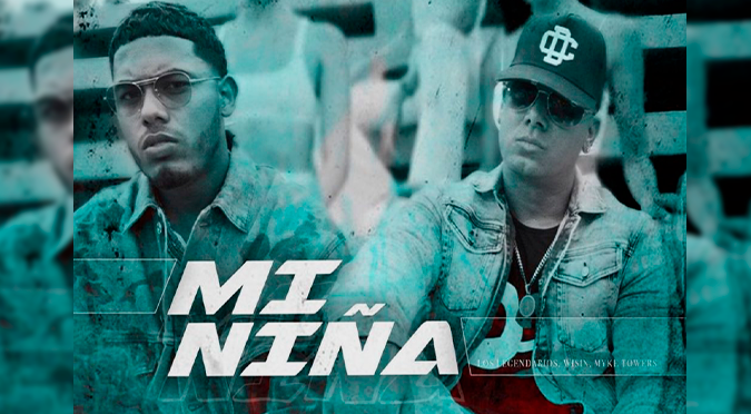 "Wisin, Myke Towers y Los Legendarios estrenan ""Mi Niña"" 