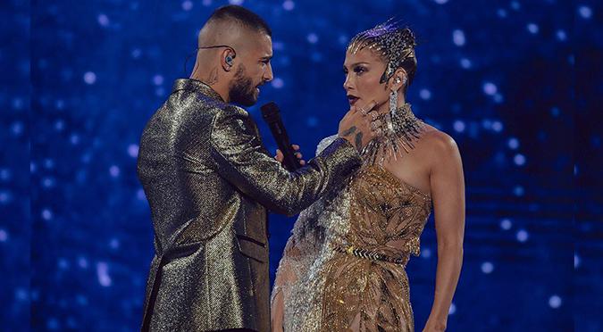 Mira el baile de Jennifer López y Maluma que encendió las redes | VIDEO
