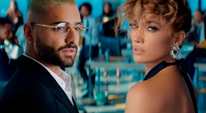 Maluma y JLo estrenan video de