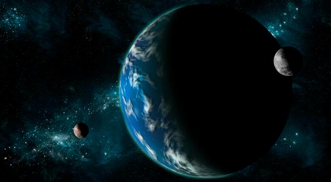 La Tierra está a punto de capturar una extraña