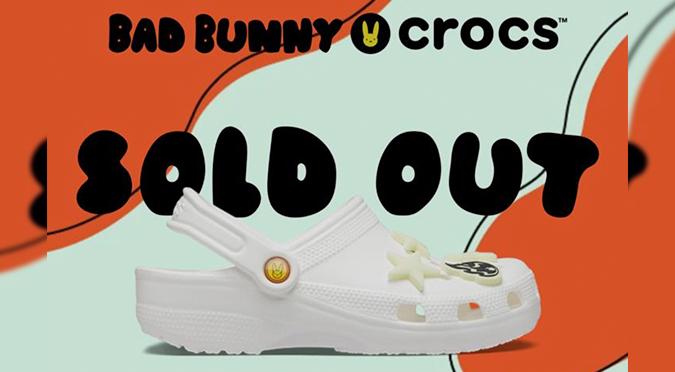 ¿Te quedaste sin las Crocs de Bad Bunny? Al menos tienes memes para reírte
