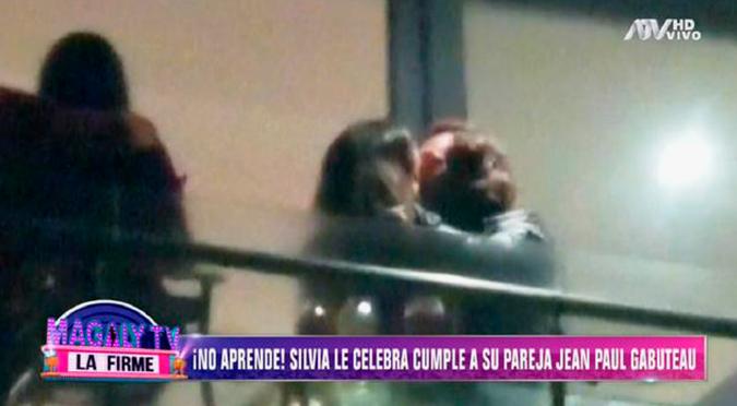 Silvia Cornejo celebró cumpleaños de Jean Paul Gabuteau pese a denuncia   VIDEO