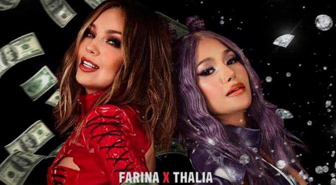 """Thalía estrena el videoclip de """"Ten cuidao"""" junto a Farina   VIDEO"""