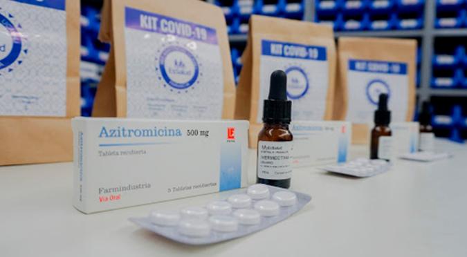 Coronavirus en Perú: azitromicina, ivermectina e hidroxicloroquina ya no se incluirán en kit de medicamentos para pacientes COVID
