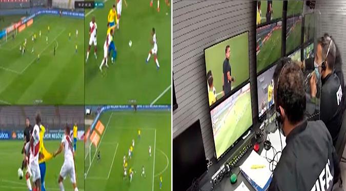 Perú vs. Brasil: Conmebol reveló conversaciones entre Julio Bascuñán y el VAR en el penal de Zambrano contra Neymar   VIDEO