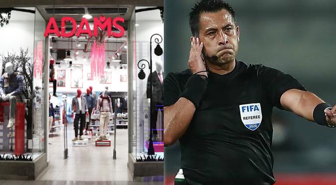Reconocida tienda de ropa difunde publicación discriminatoria contra el árbitro Bascuñán