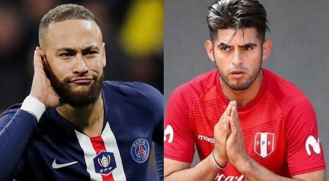 """Neymar respondió a las críticas de Carlos Zambrano: """"No llore colega""""   VIDEO"""