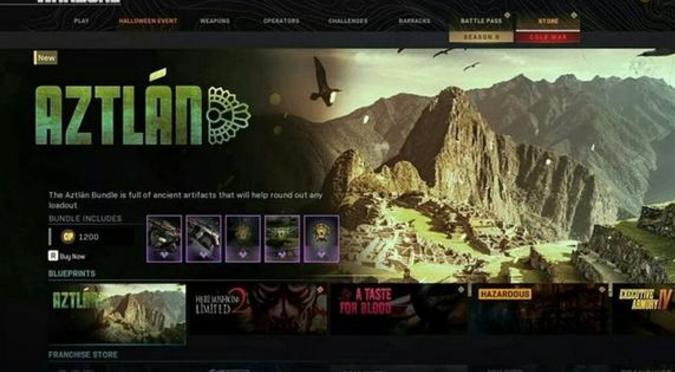 Call of Duty comete gran error con Machu Picchu y lo incluye en representación azteca