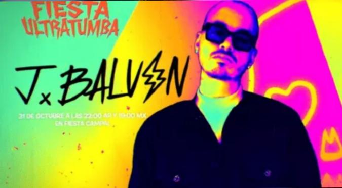 """J Balvin anunció concierto en """"Fortnite"""" el 31 de octubre"""