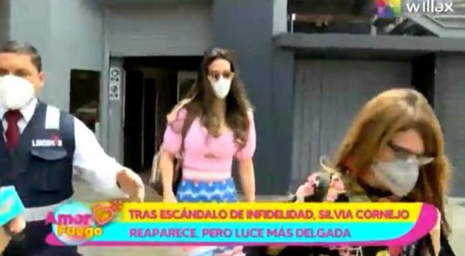 Silvia Cornejo reaparece más delgada y demacrada tras 'ampay' de Jean Paul Gabuteau   VIDEO