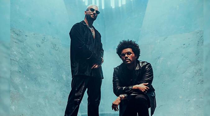 Los créditos de Youtube spoilean la colaboración entre Maluma y The Weeknd en el remix de 'Hawái'