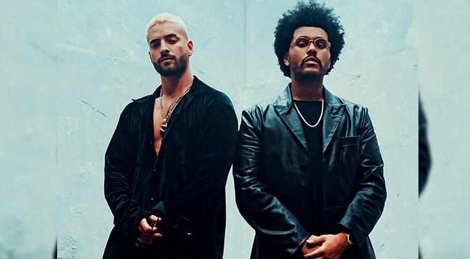 Maluma y The Weeknd estrenan 'Hawái Remix' junto con su videoclip | VIDEO