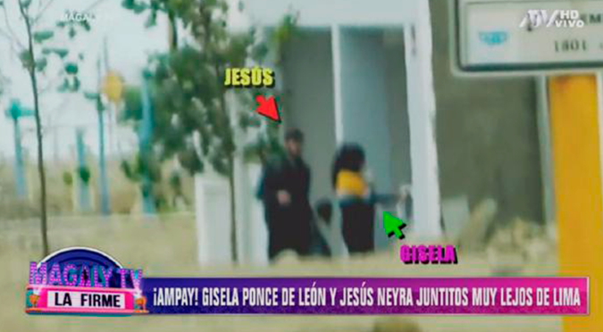 Jesús Neyra y Gisela Ponce de León fueron ampayados juntos en casa de Asia | VIDEO
