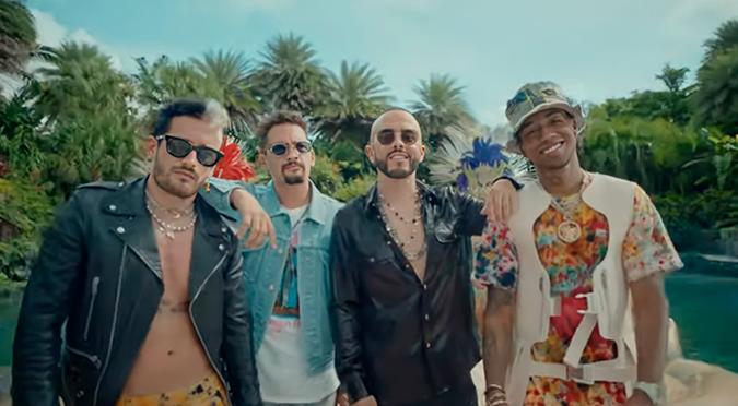 Amenazzy se une a Mau y Ricky y Yandel en 'Calmarme II'   VIDEO