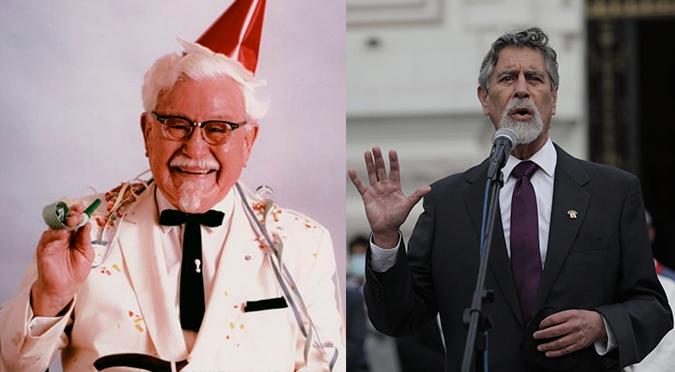 KFC lanza tuit sobre el nuevo presidente del Perú y se vuelve viral