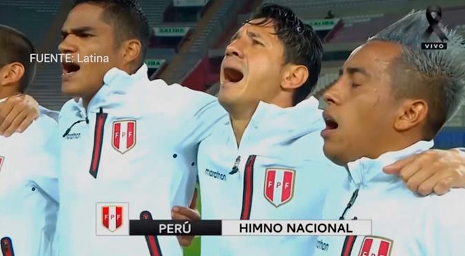 Gianluca Lapadula cantó el Himno Nacional a todo pulmón previo al Perú vs. Argentina | VIDEO