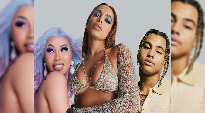 "Anitta estrena ""Me Gusta Remix' junto a Cardi B & 24kGoldn | AUDIO"