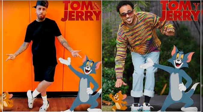 Nicky Jam y Ozuna serán parte del live-action de Tom y Jerry