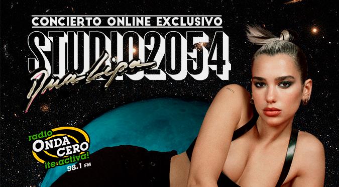 Dua Lipa anuncia 'Studio 2054' su primer y exclusivo concierto virtual