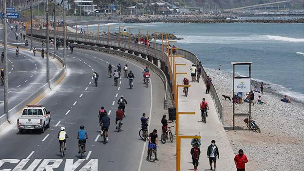 Modifican horario de cierre al tránsito vehicular en la Costa Verde