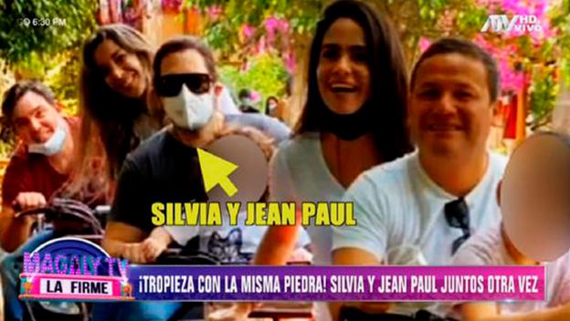 Silvia Cornejo habría perdonado nuevamente a Jean Paul Gabuteau y estarían viviendo juntos | VIDEO