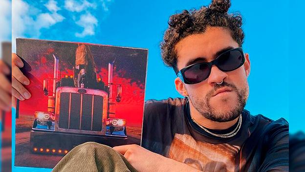 Bad Bunny hace historia en la lista Billboard 200 con su último disco