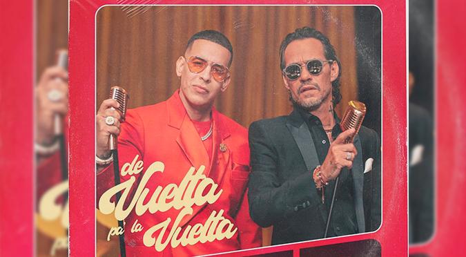 Daddy Yankee anuncia una colaboración con Marc Anthony