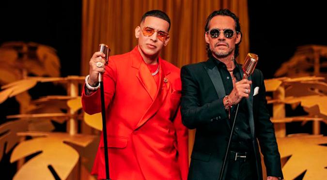 """Daddy Yankee y Marc Anthony fusionan la salsa y el reggaetón con su sencillo """"De Vuelta Pa' La Vuelta""""   VIDEO"""
