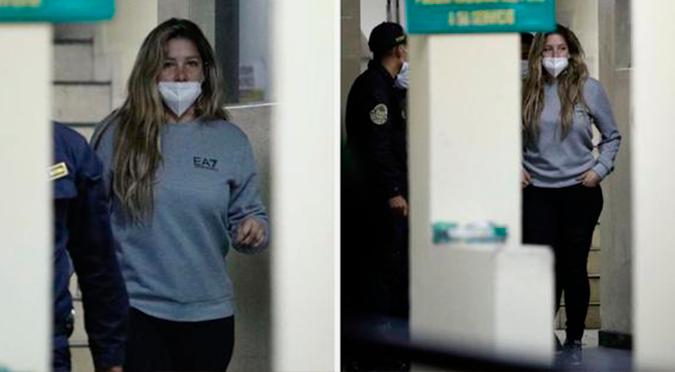 """Sofía Franco se pronuncia tras accidente: """"Me someteré a lo que corresponda"""""""