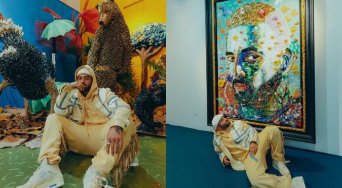 "Obras de arte inspiradas en el disco ""7 días en Jamaica"" de Maluma participarán en subasta virtual"