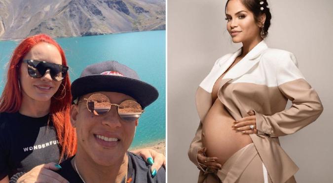 Esposa de Daddy Yankee revela sexo del bebé de Natti Natasha por error