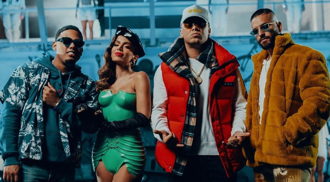 "Wisin, Maluma, Anitta y Myke Towers se unen para estrenar ""Mi Niña Remix"" 