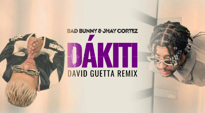 Bad Bunny y Jhay Cortez se unen a David Guetta para el remix de 'Dákiti' | VIDEO