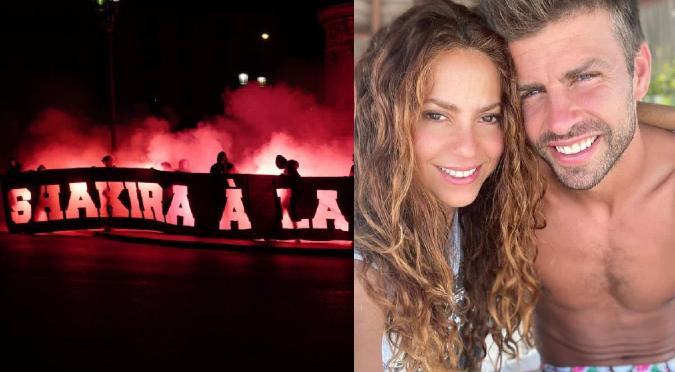 #RespectShakira: Indignación por ataques de aficionados del fútbol a Shakira