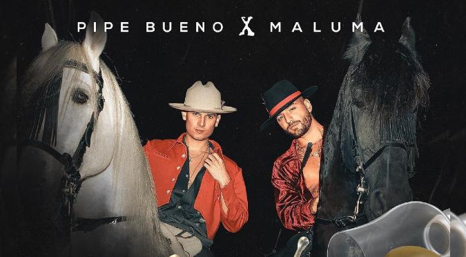 Maluma y Pipe Bueno anuncian nueva colaboración en 'Tequila' | FOTO