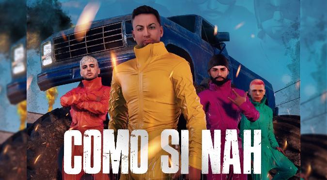 Justin Quiles presenta 'Como Si Nah' junto a Arcangel, Dalex y Kevvo | VIDEO