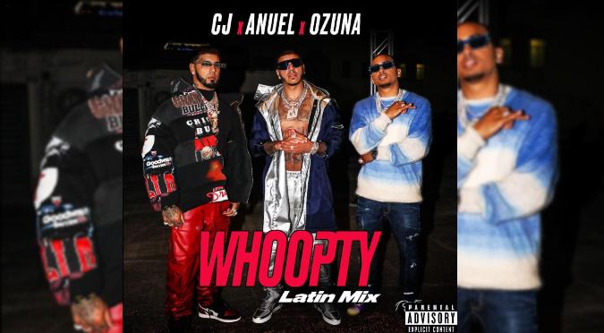 CJ se junta con Anuel y Ozuna para el potente tema 'Whoopty Latin Mix' | VIDEO