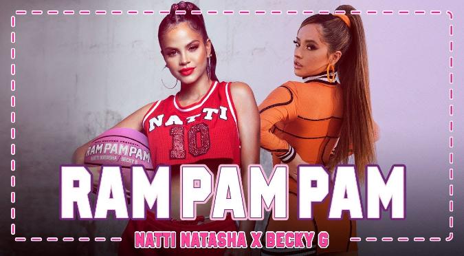 Becky G y Natti Natasha enloquecieron a todos con el estreno de 'Ram Pam Pam' | VIDEO